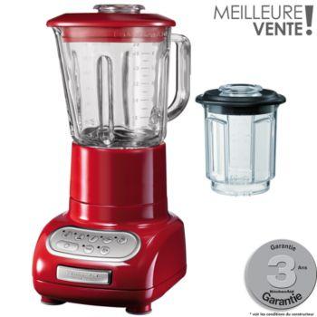 kitchenaid 5ksb5553 eer rouge empire blender boulanger. Black Bedroom Furniture Sets. Home Design Ideas