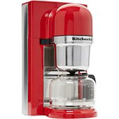 Cafetière programmable Kitchenaid 5KCM0802EER rouge empire