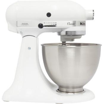 Kitchenaid 5K45SS EWH Blanc CLASSIC