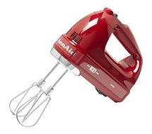 Batteur Kitchenaid 5KHM7210HESD rouge Passion 100 ans