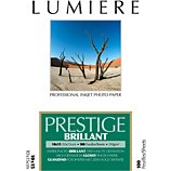 Papier photo Lumiere  Prestige Brillant 100f 10x15 310g