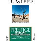 Papier photo Lumiere Prestige Brillant 100f 10x15 310g