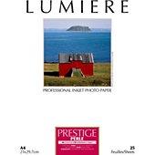 Papier photo Lumiere Prestige Perle 25f A4 310g