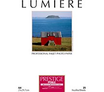 Papier photo Lumiere Prestige Perle 25f A4 310g