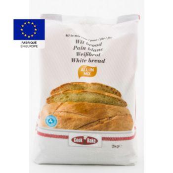 Cook & Bake pour pain blanc 2 kg