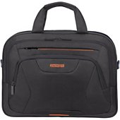 Sacoche American Tourister ordinateur 15.6'' noir/orange