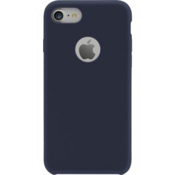 The Kase iPhone 7/8 SoftGel Silicone bleu marine