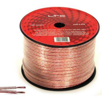 LTC Cable haut-parleurs/Enceintes HQ 2 X 2,5