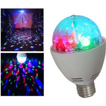 Ibiza Ampoule culot E27 jeu de lumière LEDs RV