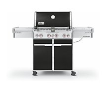 Barbecue gaz Weber  SUMMIT E470 noir intense