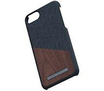 Coque Nordic Elements  iPhone 6/7/8 Bois de Noyer / Tissu noir
