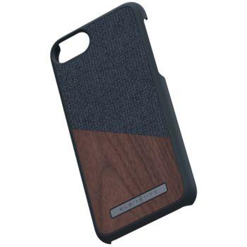 Nordic Elements iPhone 6/7/8 Bois de Noyer / Tissu noir