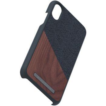 Nordic Elements iPhone Xs Max Bois de Noyer / Tissu noir