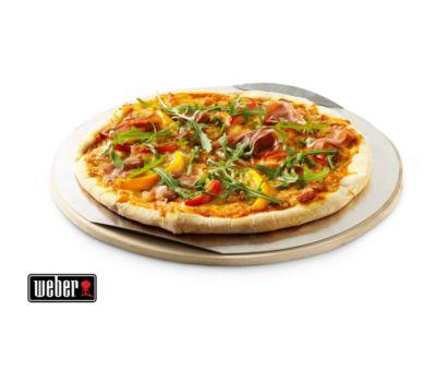 Pierre à pizza Weber à pizza ronde séries Q (diamètre : 26cm)