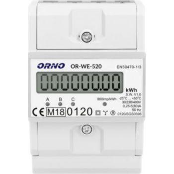 Orno Compteur énergie triphasé certifié MID a