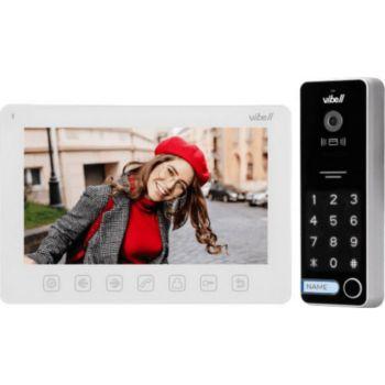 Vibell Kit Interphone 7 pouces avec écran, lect