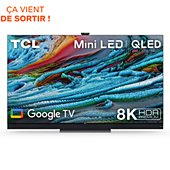TV QLED TCL 65X925 Mini Led 8K Google TV 2021