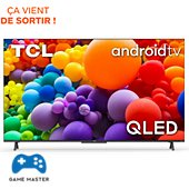 TV QLED TCL 50C725 Android TV 2021