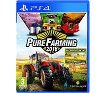 Jeu PS4 Koch Media Pure Farming 2018 - Day 1 Edition