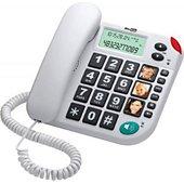Téléphone filaire Maxcom Téléphone senior KXT 480 blanc