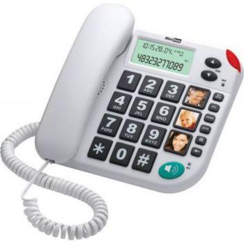Maxcom Téléphone senior KXT 480 blanc