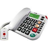 Téléphone filaire Maxcom Téléphone fixe avec télécommande SOS MAX