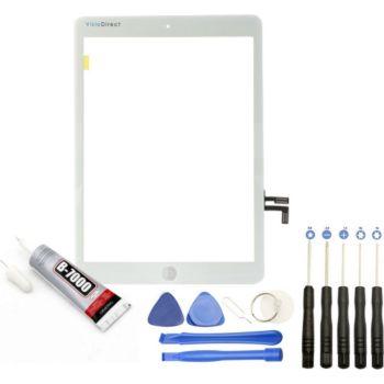 Visiodirect Vitre tactile pour iPad 5 A1822 A1823
