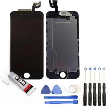Visiodirect Vitre + LCD pour iPhone 6S NOIR
