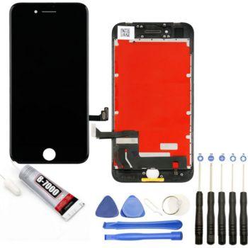 Visiodirect Vitre + LCD pour iPhone 8 NOIR