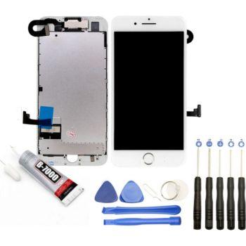 Visiodirect Vitre tactile Ecran LCD pour iPhone 8