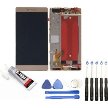 Visiodirect Vitre tactile Ecran LCD pour Huawei P8