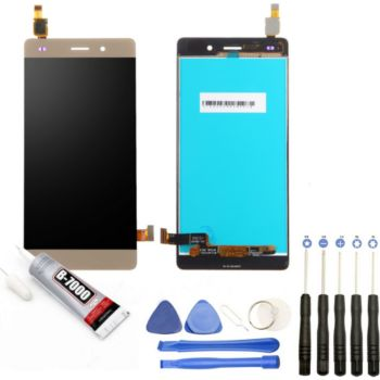 """Visiodirect Vitre + LCD pour Huawei P8 Lite 5"""" OR"""