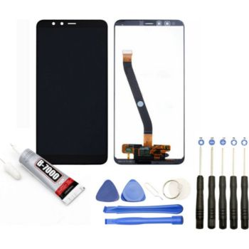Visiodirect Vitre tactile Ecran LCD pour Huawei Y6