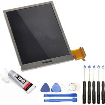 Visiodirect Ecran LCD BAS pour Nintendo 3DS