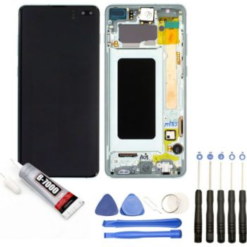 Visiodirect Vitre + LCD pour Samsung Galaxy S10+