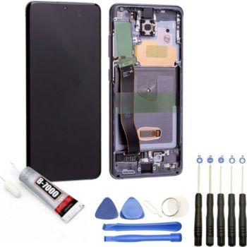 Visiodirect Vitre+Ecran LCD pour Galaxy S20