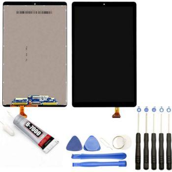 Visiodirect Vitre+Ecran LCD pour Samsung Tab A 10.1