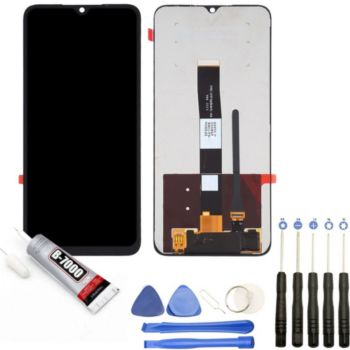 Visiodirect Vitre + ecran LCD pour Xiaomi Redmi 9A