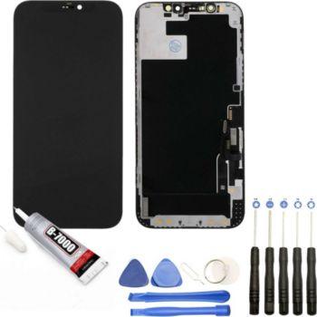 Visiodirect Vitre + ecran LCD pour Iphone 12