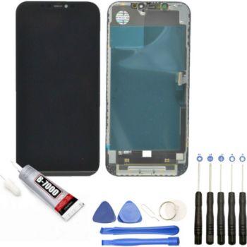 Visiodirect Vitre + ecran LCD pour Iphone 12 Pro