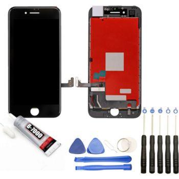 Visiodirect Vitre + LCD pour iPhone 7 NOIR