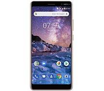 Smartphone Nokia 7 Plus Blanc