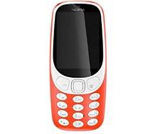 Téléphone portable Nokia  3310 Rouge DS