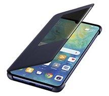 Etui Huawei  Mate 20 View Flip bleu