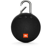 Enceinte Bluetooth JBL  Clip 3 Noir