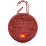 Enceinte Bluetooth JBL  Clip 3 Rouge