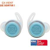 Ecouteurs JBL Reflect Flow Turquoise