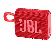 Enceinte Bluetooth JBL  Go 3 Rouge