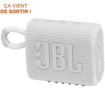 JBL Go 3 Blanc