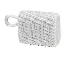 Enceinte portable JBL  Go 3 Blanc
